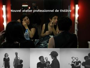 Atelier professionnel de théâtre - Les Inclassables